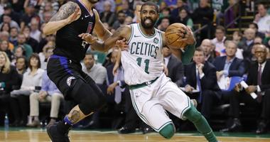 Kyrie Irving gives encouraging quote about future in Boston