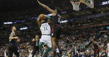 Clippers 129, Celtics 119: DeAndre Jordan's big night bests Kyrie Show