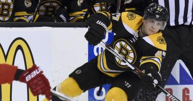 Bruins experiment with Torey Krug-Charlie McAvoy top pairing