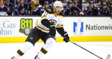 Why the Bruins completely cut ties with Jimmy Hayes