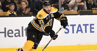 Bruins recall two AHL forwards while Patrice Bergeron looks close to return