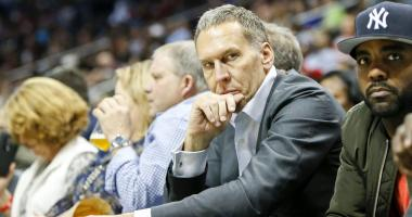 Bryan Colangelo joked about Danny Ainge.