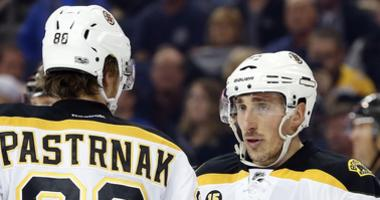 Brad Marchand wants to see David Pastrnak signed