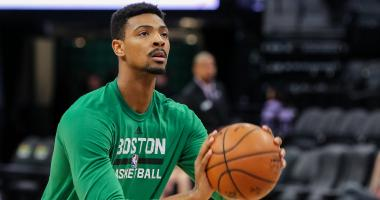 Celtics waive Jordan Mickey