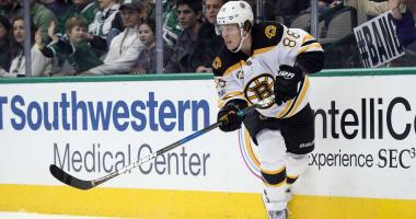 Bruins CEO Charlie Jacobs says Bruins want long-term deal with David Pastrnak