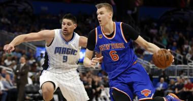 Kristaps Porzingis is on the trade block.