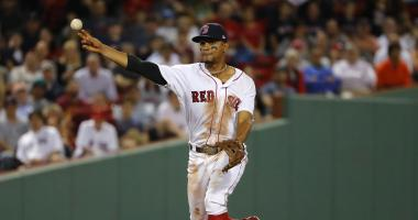 Xander Bogaerts getting MRI on hand following hit-by-pitch almost 2 weeks ago
