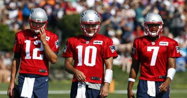 How will QB reps be split during training camp? According to Josh McDaniels, just like they always have