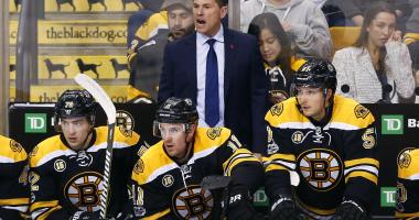 Bruce Cassidy wouldn't mind seeing Rob Gronkowski on skates