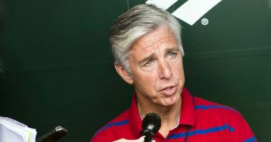 Dave Dombrowski has very little to say about John Farrell's ouster as Red Sox manager