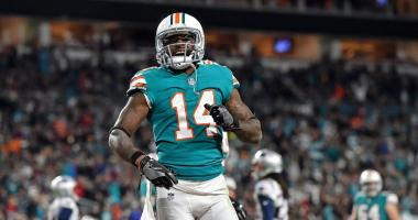 Miami WR Jarvis Landry confirms he was mimicking deflating football with TD celebration