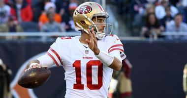 Jimmy Garoppolo shines, leads 49ers to another win
