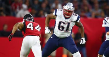 Why Patriots' biggest injury concern this week is on the offensive line