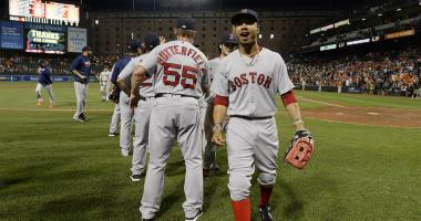 Red Sox lineup: Mookie Betts back in, Christian Vazquez at DH