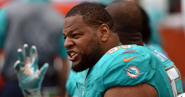 Miami DT Ndamukong Suh: My goal this week is to hit, touch Tom Brady as much as I can
