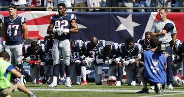 Patriots give reasons for kneeling during anthem: 'We want respect and unity'