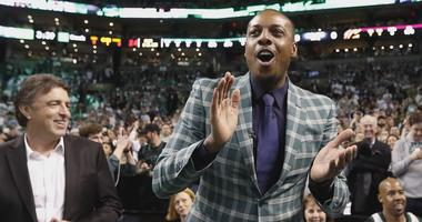 Paul Pierce reflects on getting number retired by Celtics