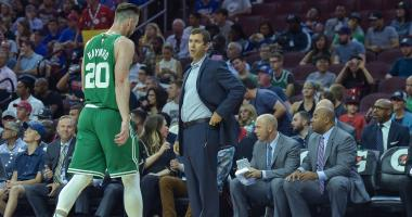 Brad Stevens called Paul George's former coach for advice on Gordon Hayward's comeback