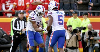Taylor will start at quarterback Sunday for Bills