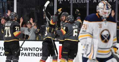 Golden Knights spoil Sabres comeback; win first ever meeting 5-4