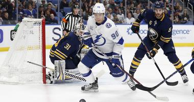 Sabres survive for 5-3 win over Tampa Bay