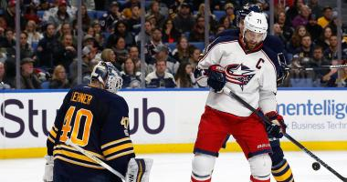 The Sabres drag five straight losses into Monday's game against Columbus