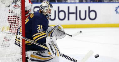 The Sabres will put Johnson in goal on Friday