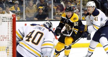 Sabres limp into Boston looking for points