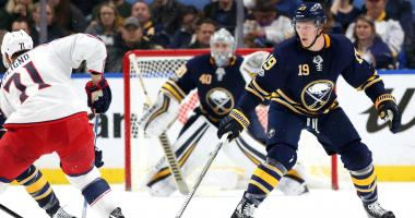 From the Locker Room: Sabres-Blue Jackets