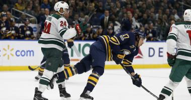 From the Locker Room: Sabres-Wild