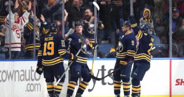 From the Locker Room: Sabres-Hurricanes