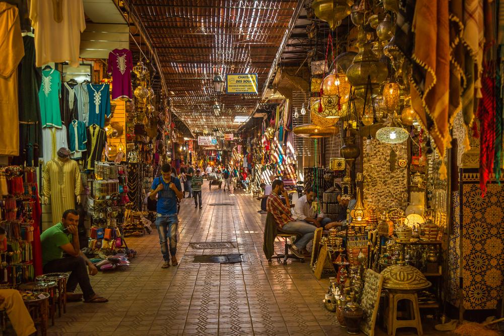 Marrakesh Medina_350681675