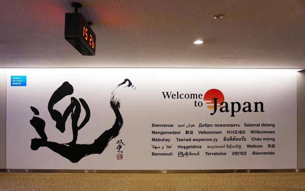 International arrivals at Narita International Airport_352861553