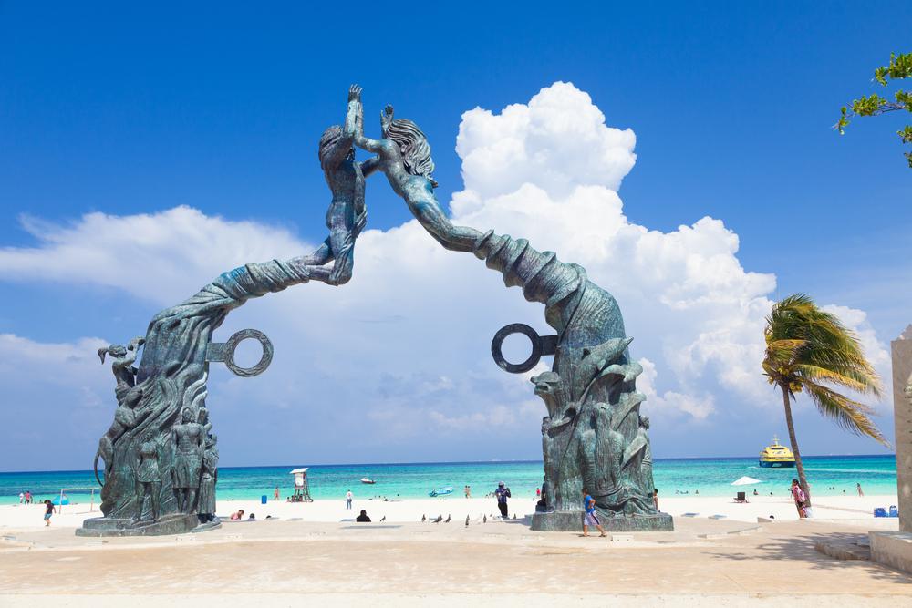 Portal Maya monument_180961145