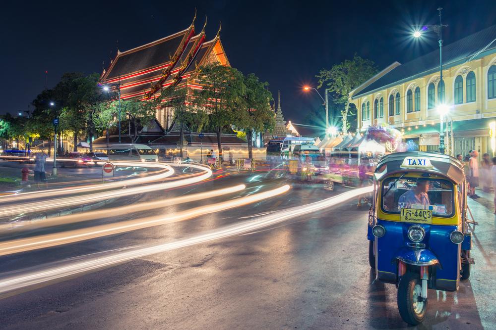 Wat Pho (Chetupon Vimolmangklaram Temple) at night_357222788