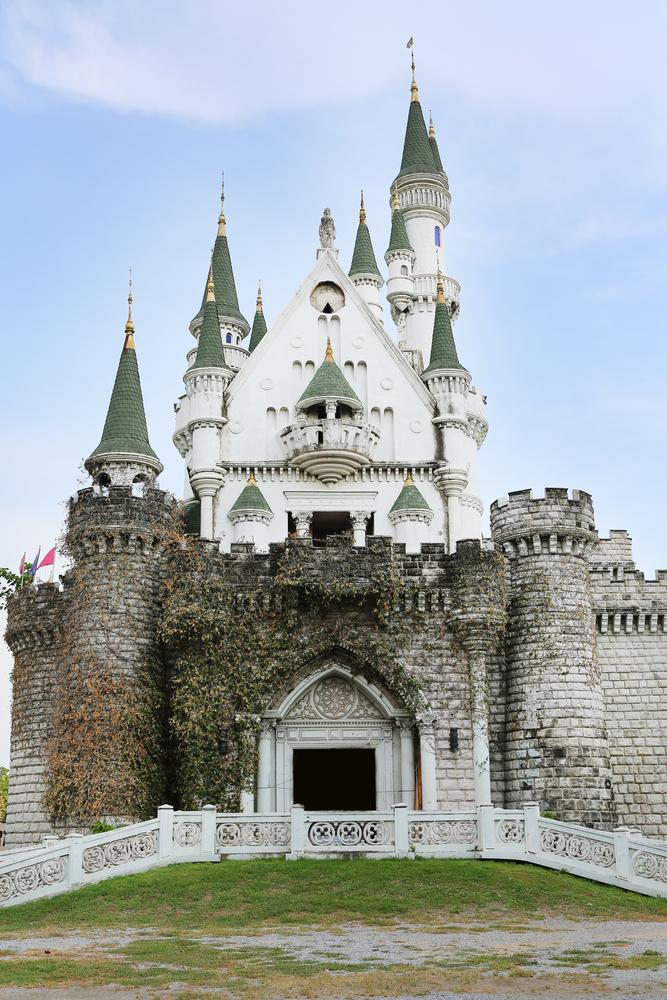 Old Castle in Thailand amusement park Darnneramit_333750284