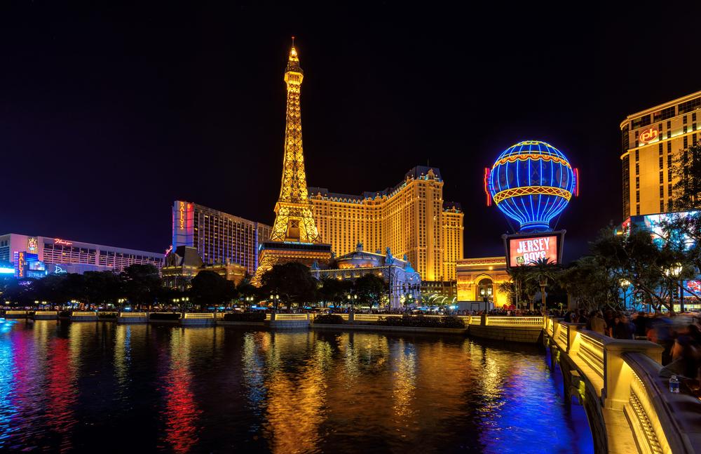 Paris hotel on strip_341497130