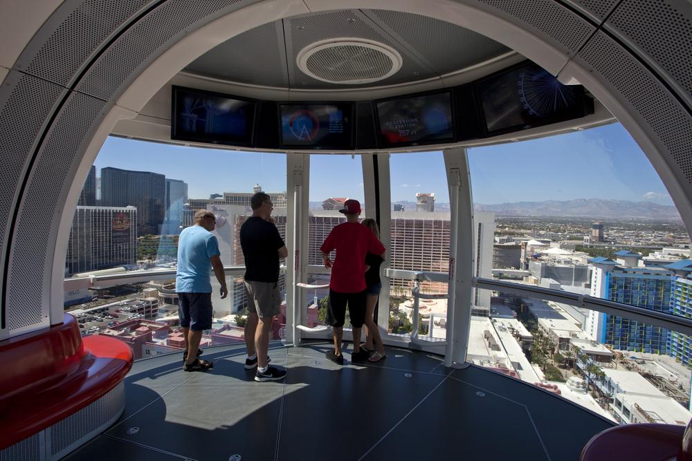 High Roller Ferris Wheel in Las Vegas_226654834
