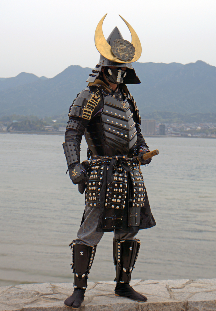 samurai costume in Miyajima_188322542