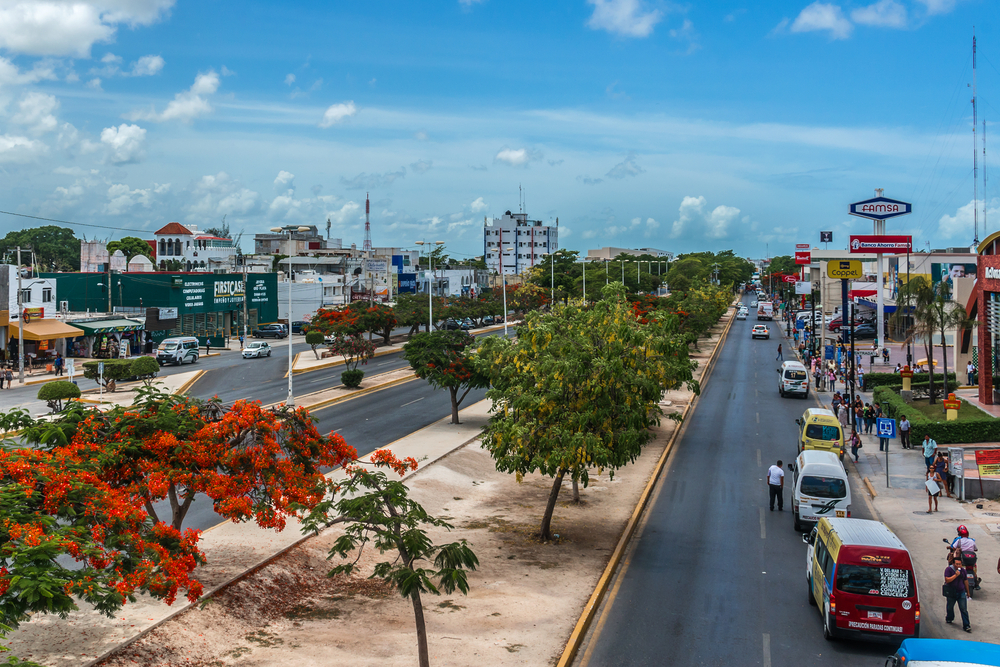Cityscape of Cancun_325886798