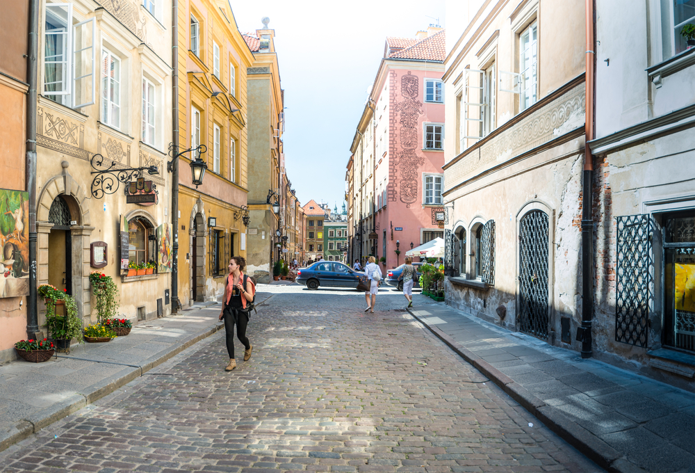Old Town in Warsaw, Poland_351628487