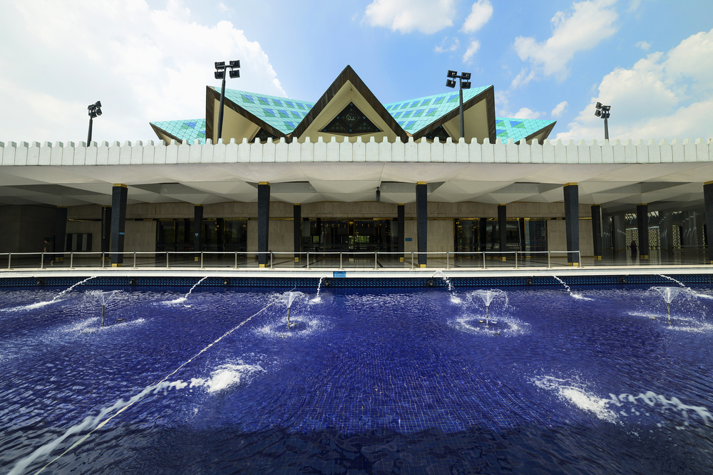 Masjid Negara Mosque in Kuala Lumpur_254136649