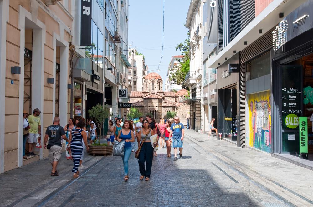 Shopping on Ermou Street_219499891