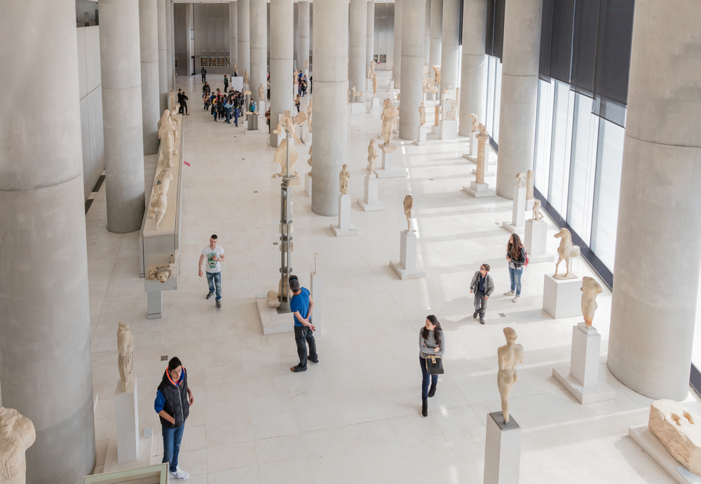 New Acropolis Museum in Athens_399184882
