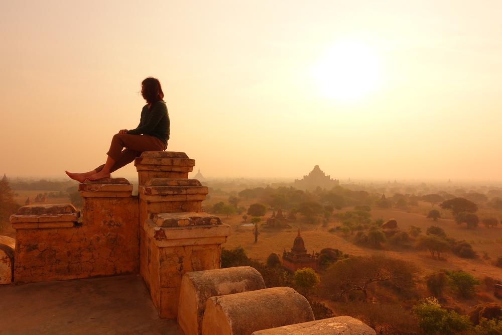 Old Pagoda in Bagan, Myanmar_382033966