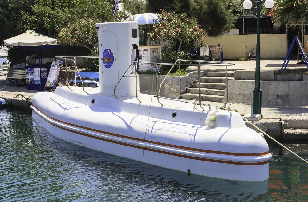 Excursions submarine in port in Rhodes_241480075