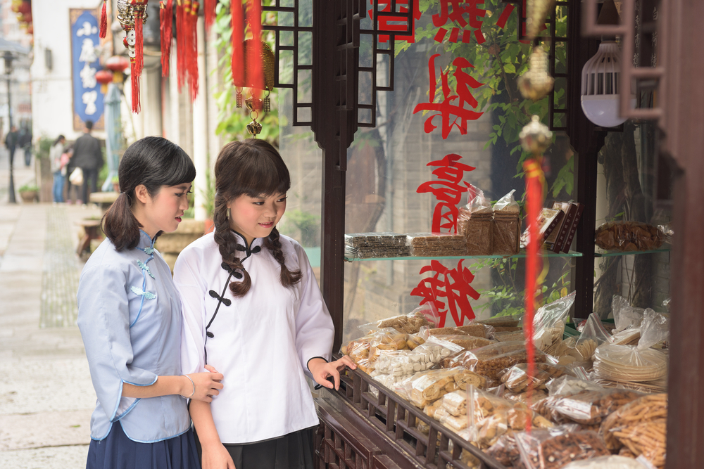 chinese schoolgirls_346641914