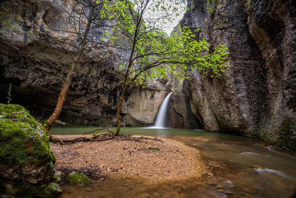 The Emen Canyon near Veliko Tarnovo_374802640