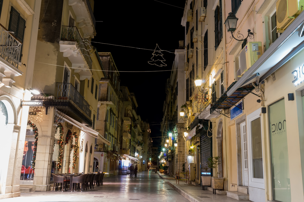 The historic center of Corfu town_247625560
