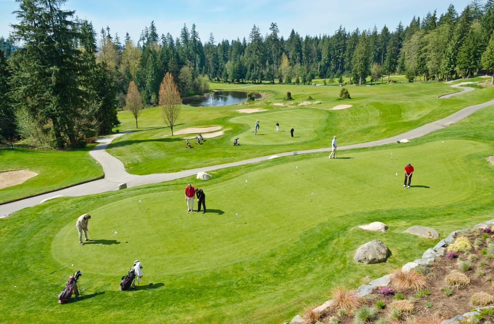 golf course Vancouver_372684451